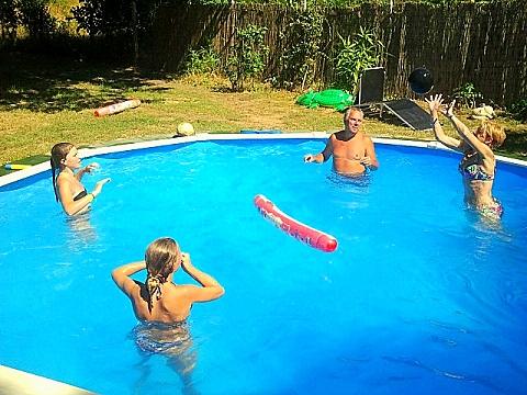 Ferienhaus Ungarn Pool