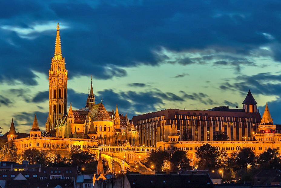 Burgviertel von Budapest