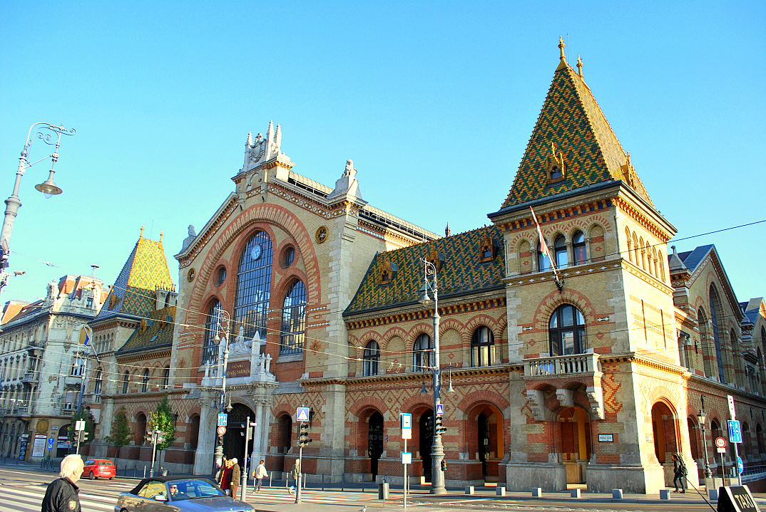 budapest ungarn markthalle